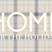 "Home ""Home for the Holidays"" Vinyl Floor Mat - 2' x 5'"