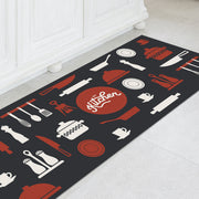 Decorative Indoor Vinyl Floor Mat - 2' x 5'