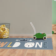 Wild One Decorative Vinyl Floor Mat – 2' x 5'