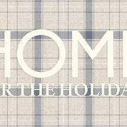 "Home ""Home for the Holidays"" Vinyl Floor Mat - 4.5' x 6.5'"