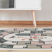 Flamingo Floor Game Vinyl Floor Mat – 4.5' x 6.5'