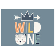 Wild One Decorative Vinyl Floor Mat – 4.5' x 6.5'