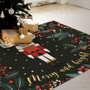Merry & Bright Vinyl Floor Mat – 4.5' x 6.5'