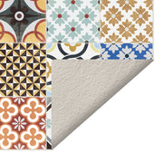 Tile Decorative Vinyl Floor Mat – 4.5' x 6.5'