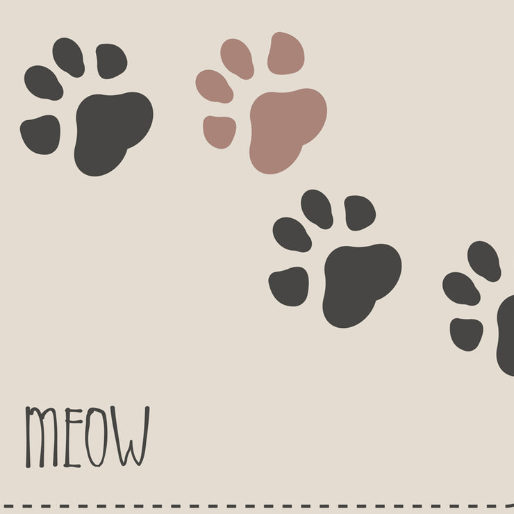 Keep talking, I'll just MEOW Pet Decorative Floor Mat - 1.6' x 2.4'