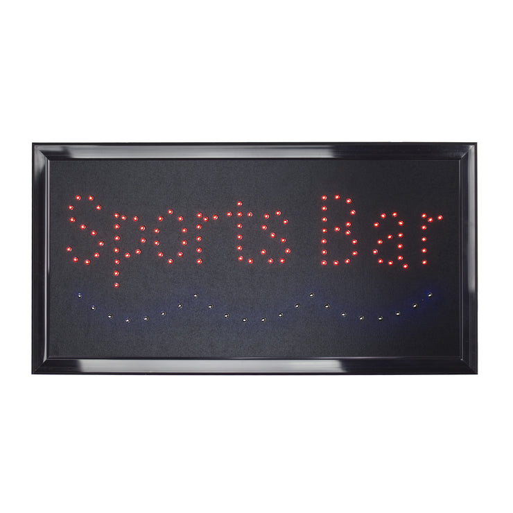 Sports Bar Framed LED Sign