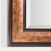 Hartley Bronze Antiqued Vanity Wall Mirror