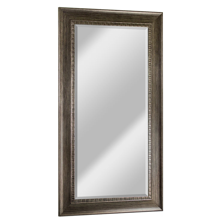 Abby Smoke Gray Large Wall Vanity Mirror