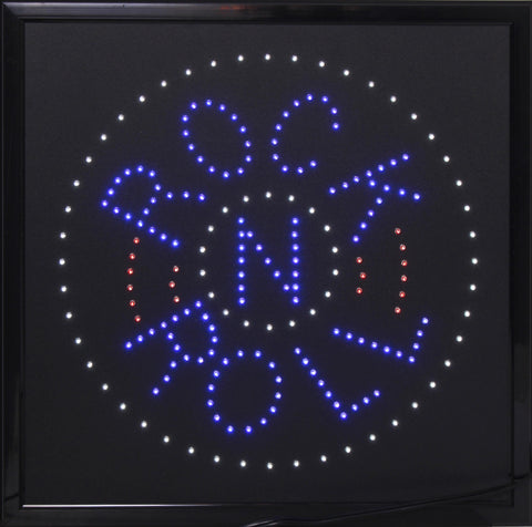 Rock n Roll Marquee LED Sign
