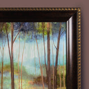 """Soft Forest"" Framed Canvas Painting Print Wall Art"