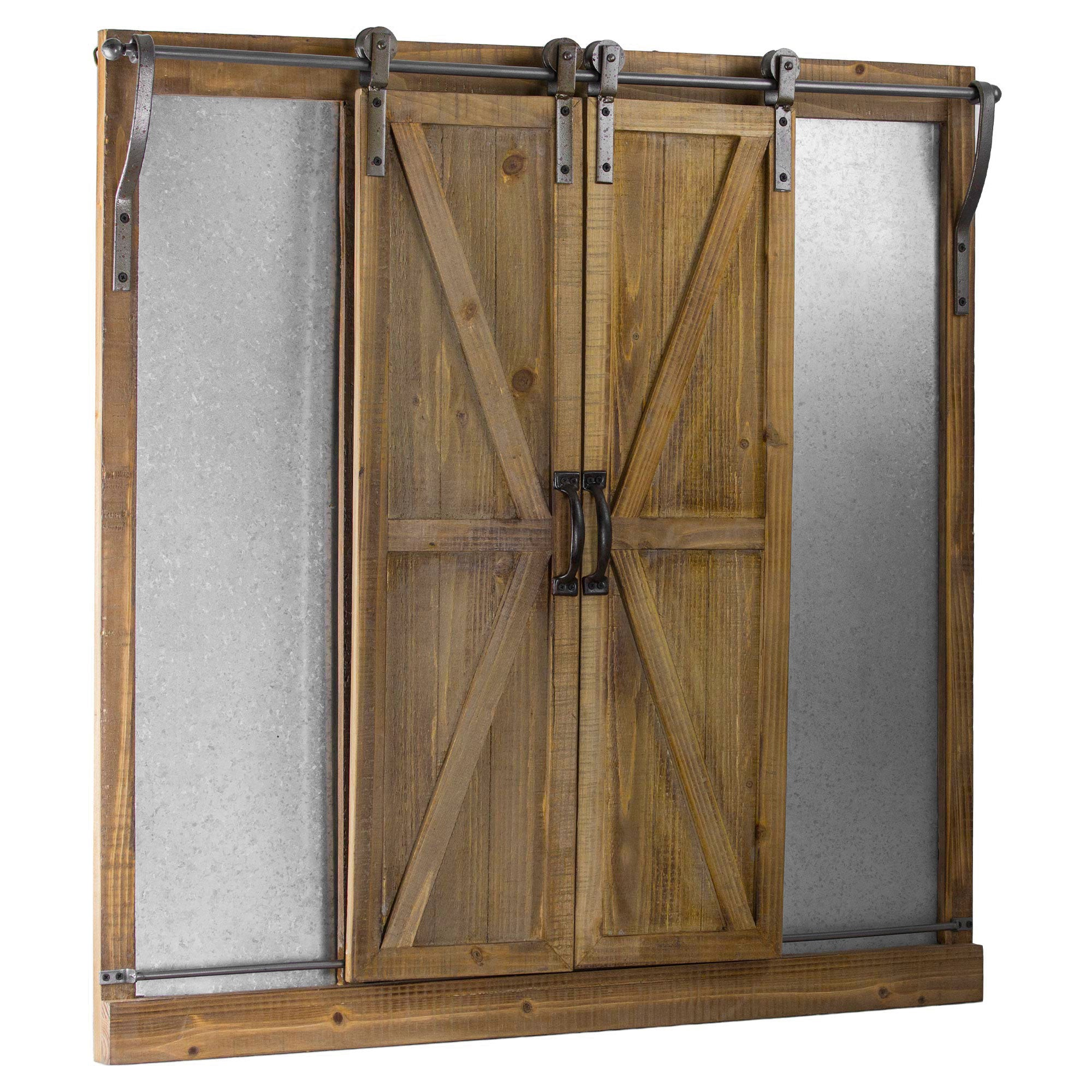 fashioned piece and hardware metal attractive designs of for door slide barns barn with wooden old sliding rustic furniture kinds