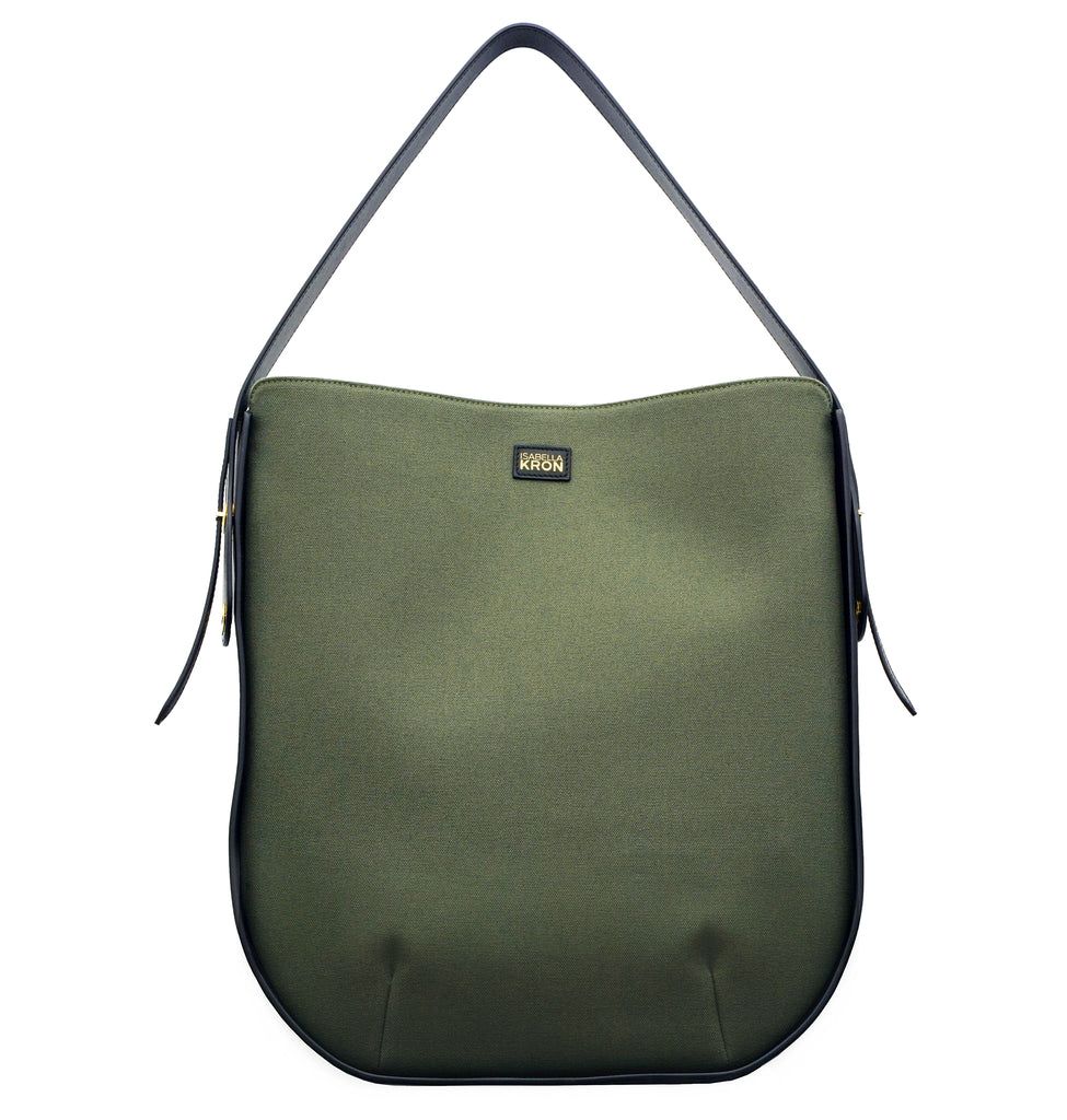 Image of IBBIE BAG CANVAS MILITARY