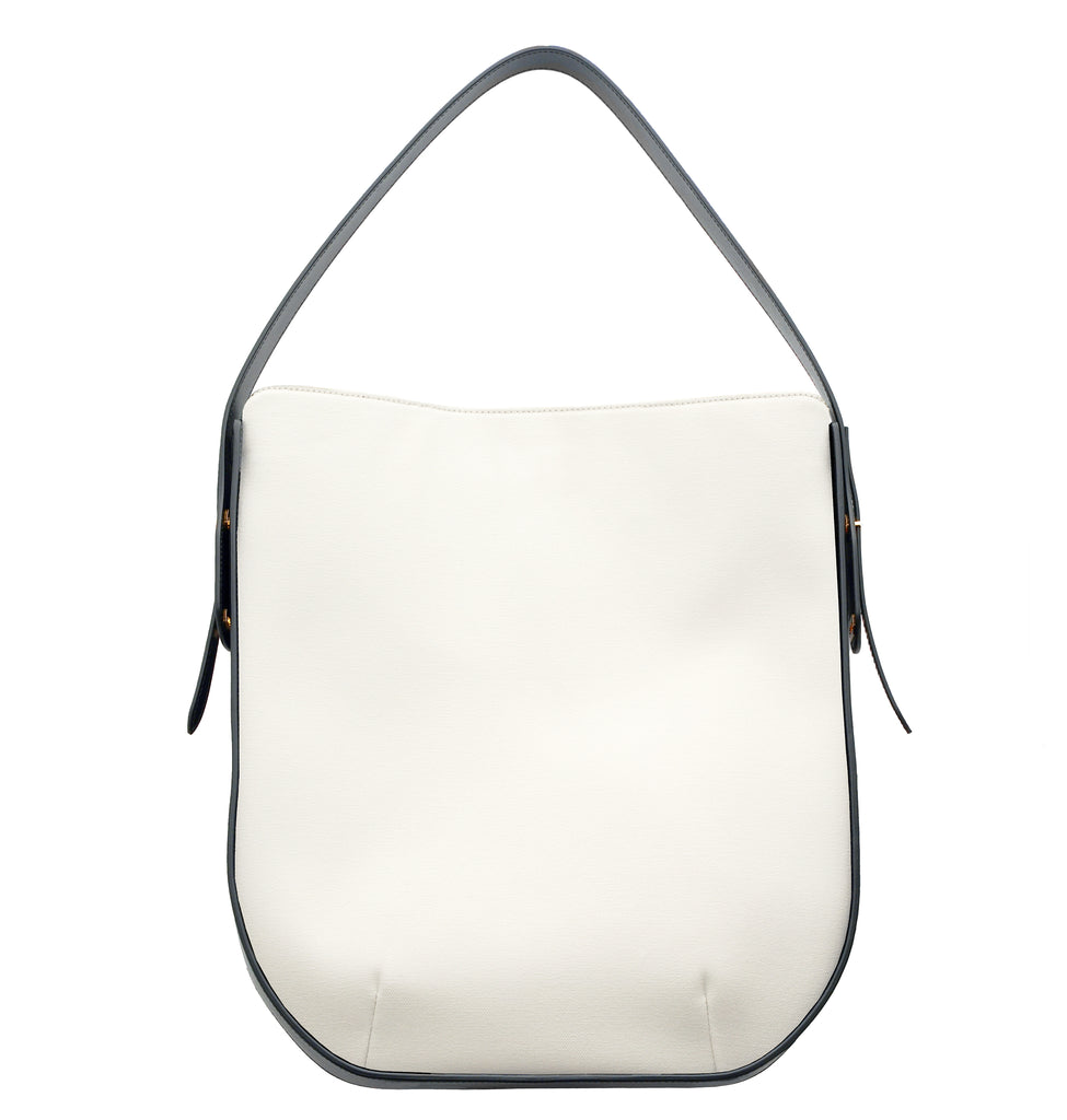 IBBIE BAG CANVAS WHITE