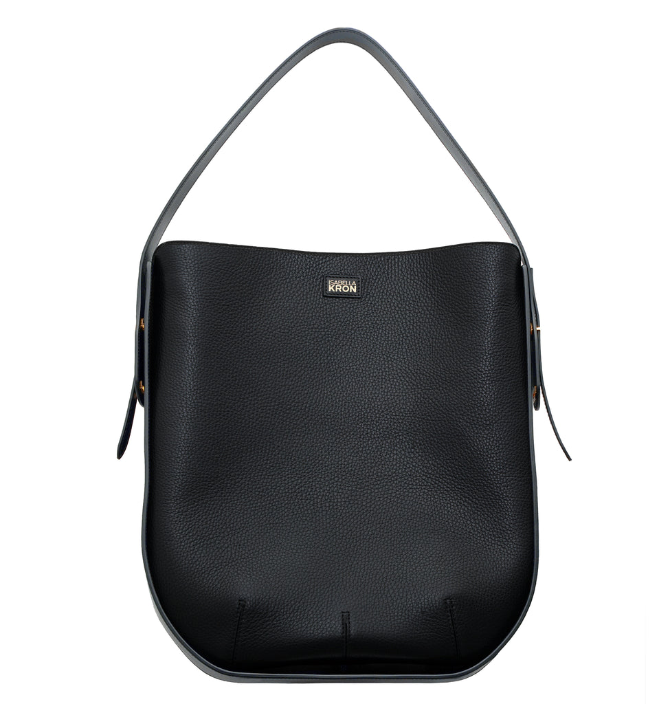 Image of Bag IBBIE BAG LEATHER BLACK