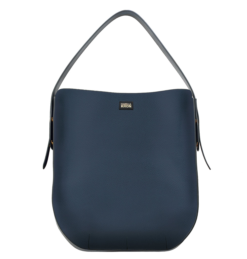 IBBIE BAG LEATHER BLUE