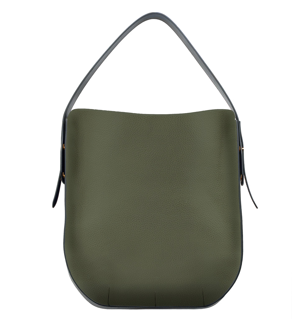 Image of Bag IBBIE BAG LEATHER MILITARY