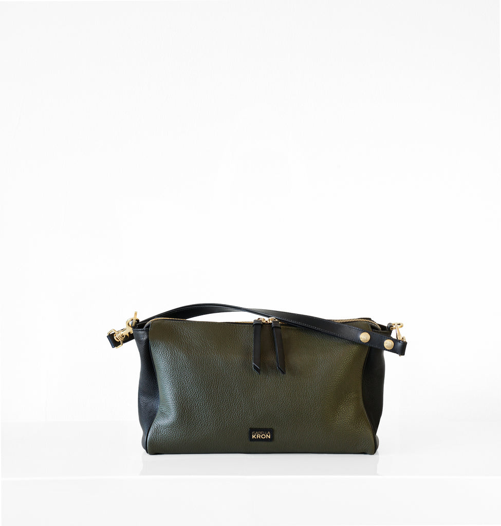 Image of ISOTTA CONVERTIBLE Bag MILITARY
