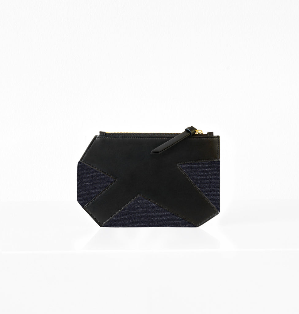 K CLUTCH DENIM