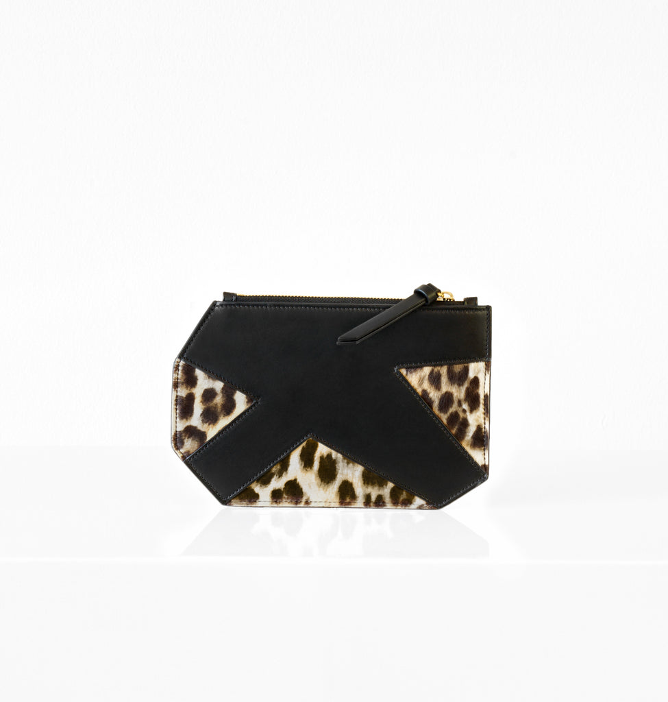Image of K CLUTCH LEOPARD Bag