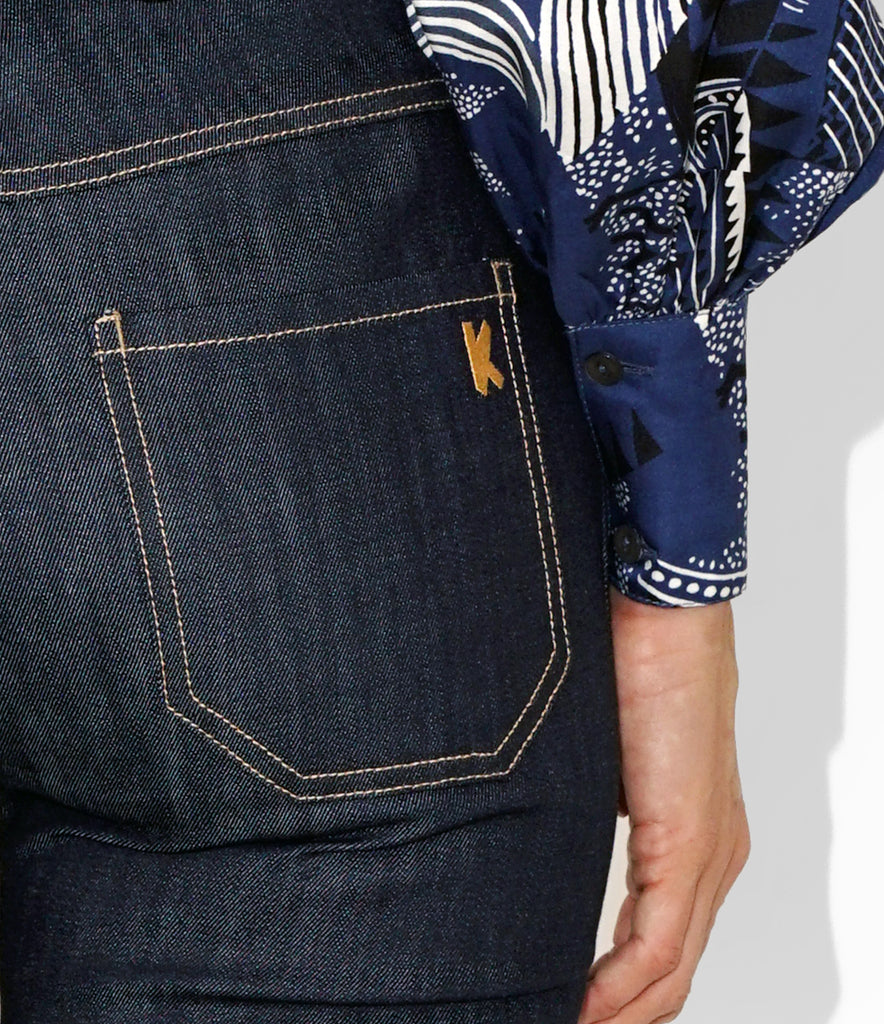 Close up Image of K 22 Denim Jean Pant