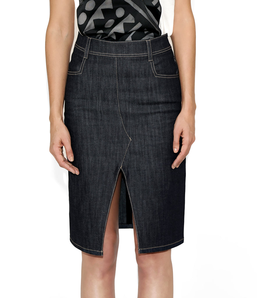 Image of KATE SKIRT DENIM