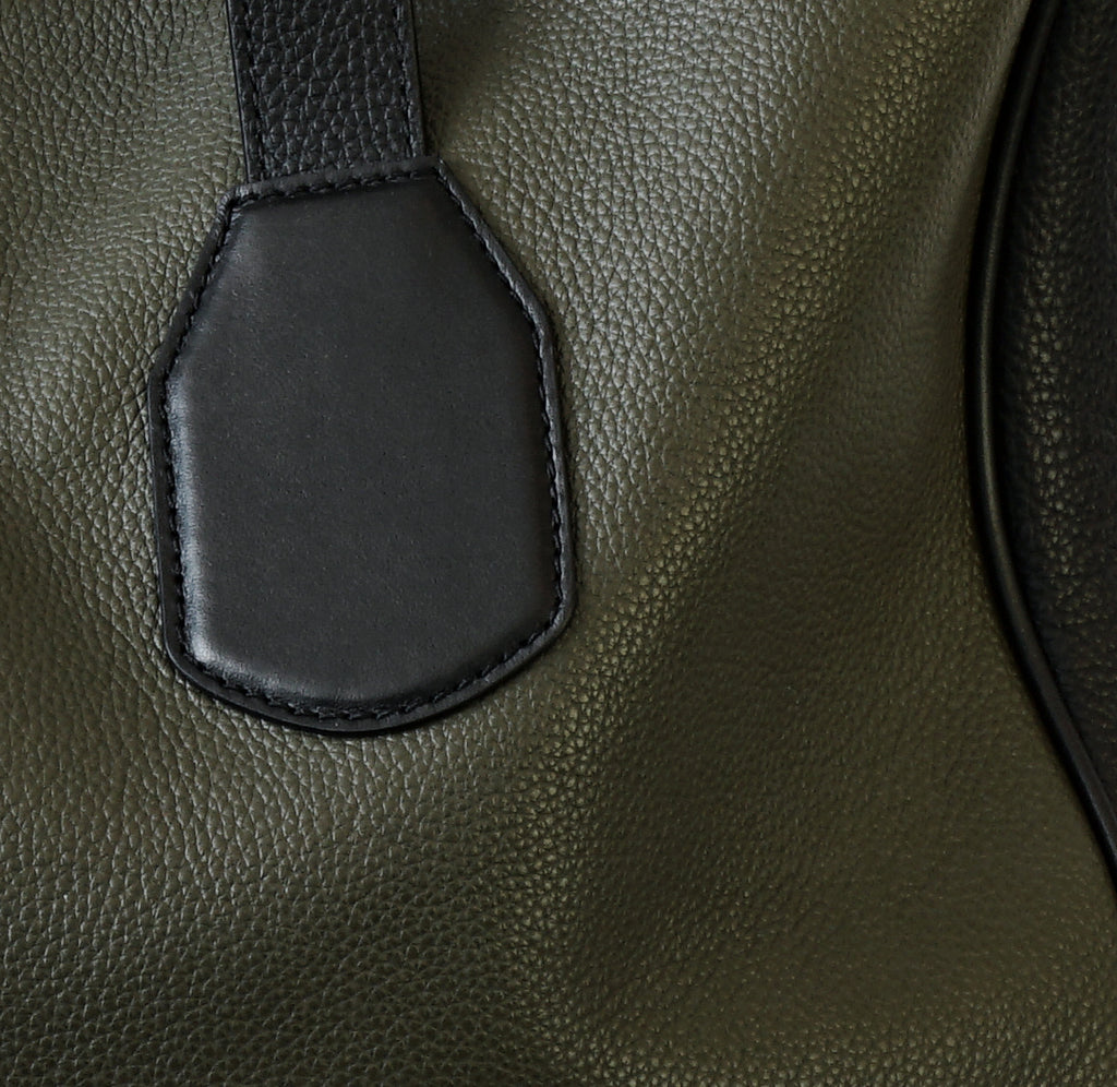 Image of Detail LEO SHOPPER MILITARY Bag