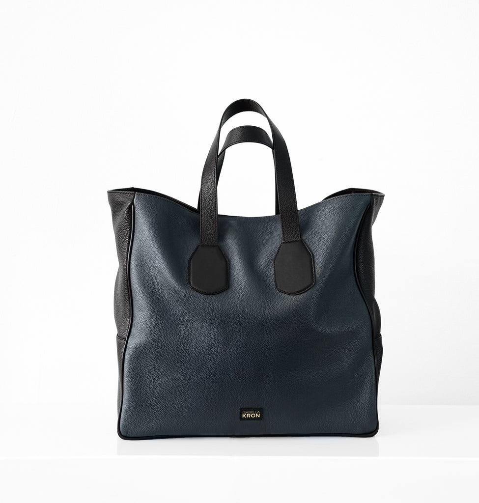 Image of LEO SHOPPER BLUE Bag