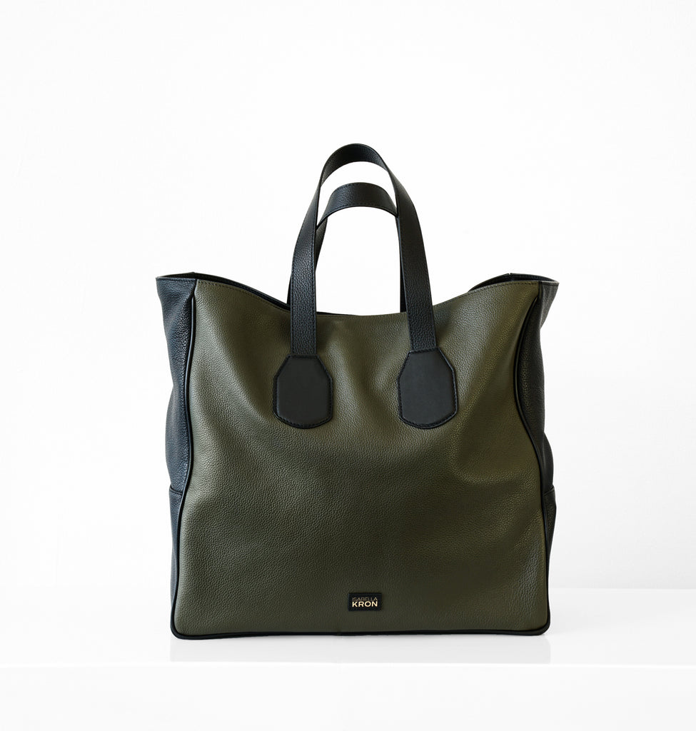 Image of LEO SHOPPER MILITARY Bag