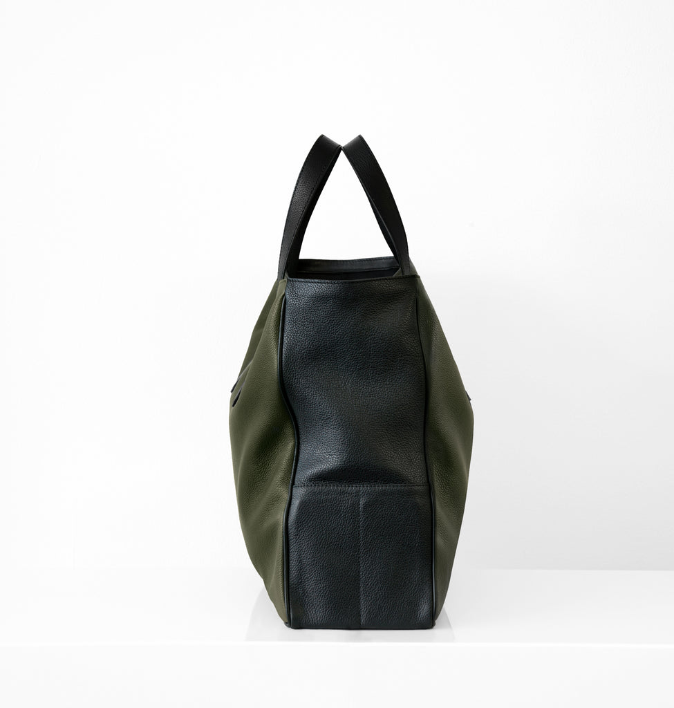 Image of Side LEO SHOPPER MILITARY Bag