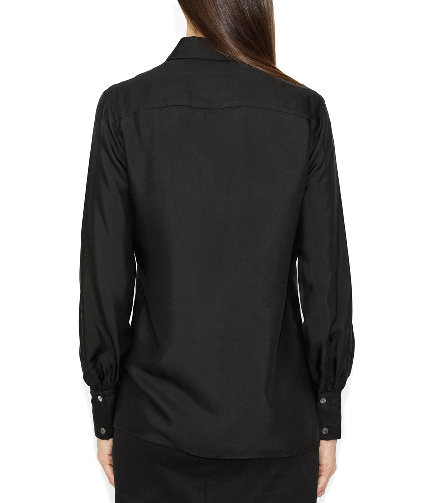 Image of Rear LINDA SHIRT BLACK