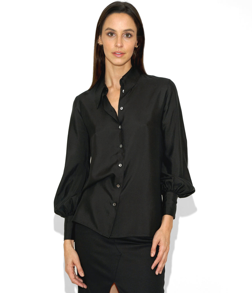 Image of LINDA SHIRT BLACK