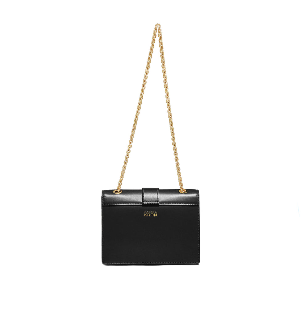 MARCELLA CHAIN BAG BLACK