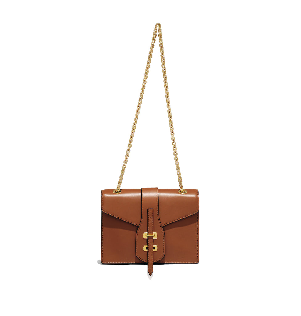 MARCELLA CHAIN BAG TAN