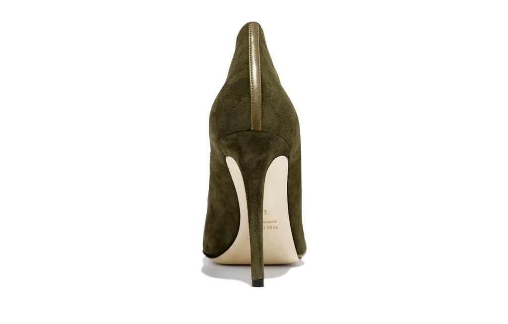 Image of Rear MIRIAM PALUDE SUEDE PUMP Shoe