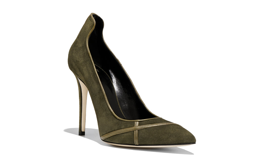 Image of MIRIAM PALUDE SUEDE PUMP Shoe