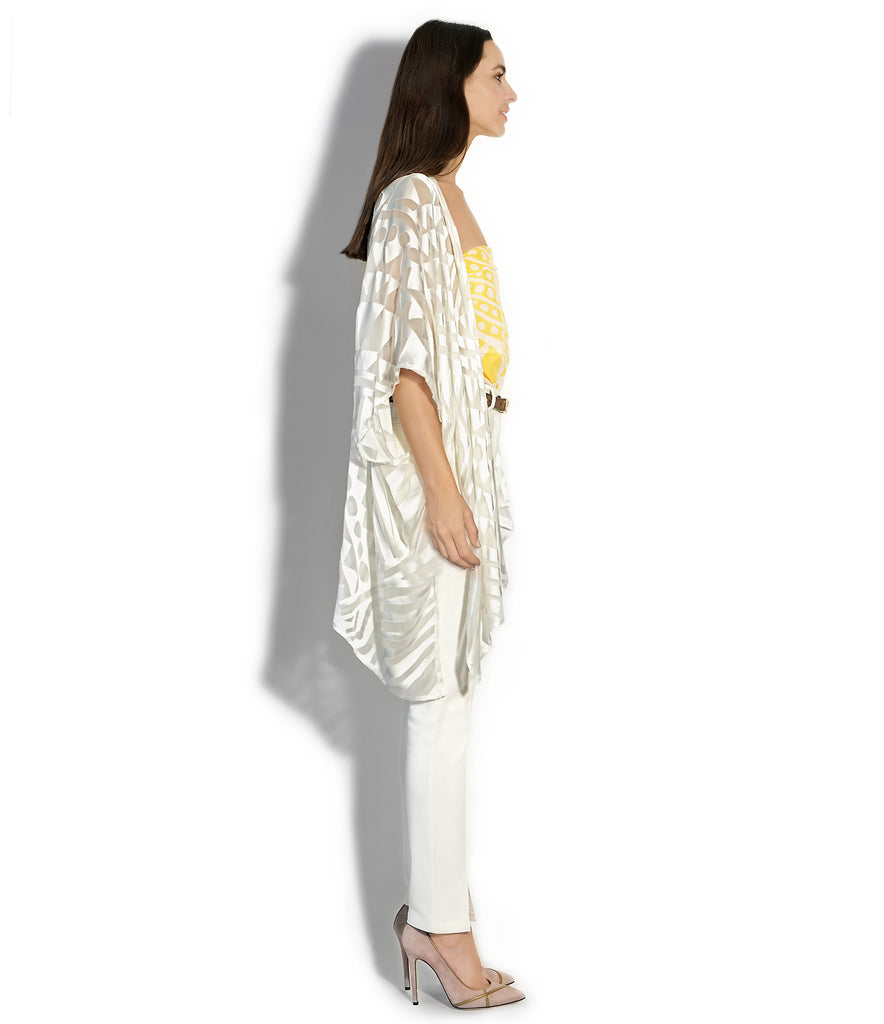 IMAGE OF SIDE NOMAD COVER-UP IVORY
