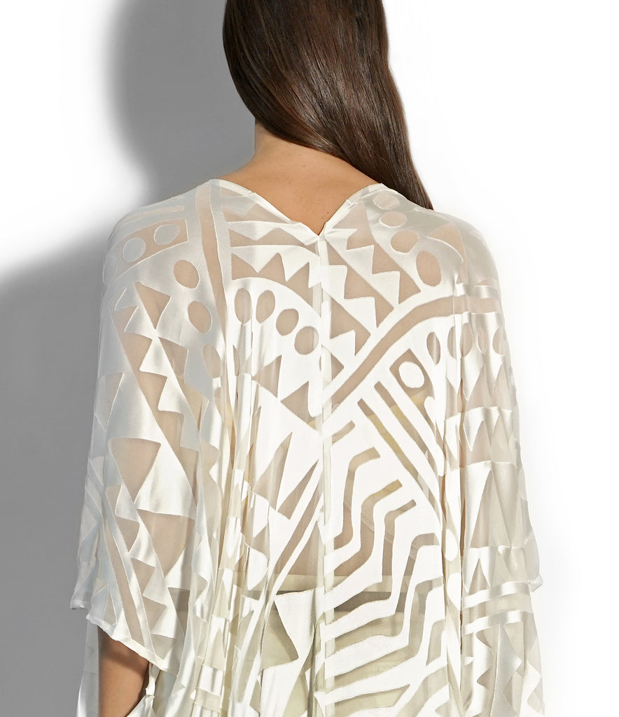 IMAGE OF DETAIL NOMAD COVER-UP IVORY