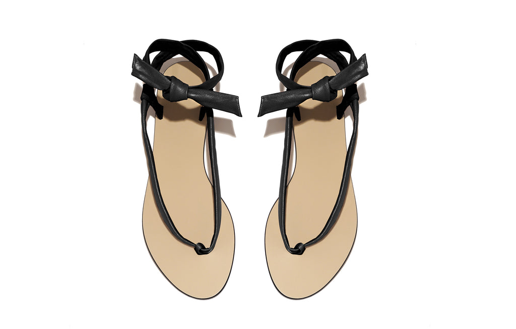 PATTI SANDAL NAPPA BLACK