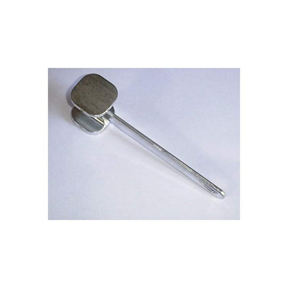 Aluminum Meat Mallet for Tenderizing Meat.