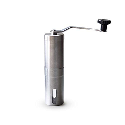 Stainless Steel Manual Coffee and Spice Grinder with Grinding Hand Mill \ Ceramics Core Hand Burr Mill Grinder- Ceramic Corn Grinding Machine