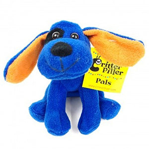 Plush Blue Dog Critter Piller Pal