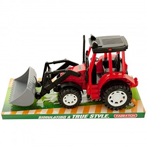 SHERRI'S HOME & GARDEN Friction Powered Toy Farm Tractor