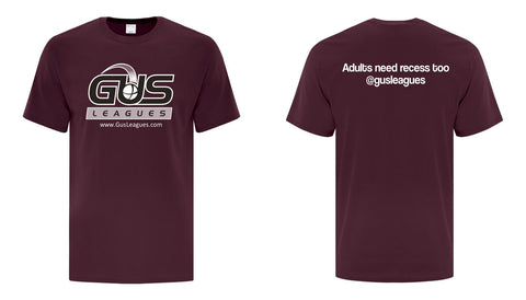 GUS Leagues Team Tshirt - Included with  your eligible registration