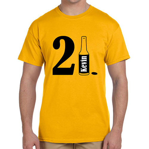 21 Bottle T-Shirt