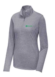 Omnicell Ladies PosiCharge ® Tri-Blend Wicking 1/4-Zip Pullover