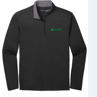 Omnicell Silk Touch ™ Performance 1/4-Zip
