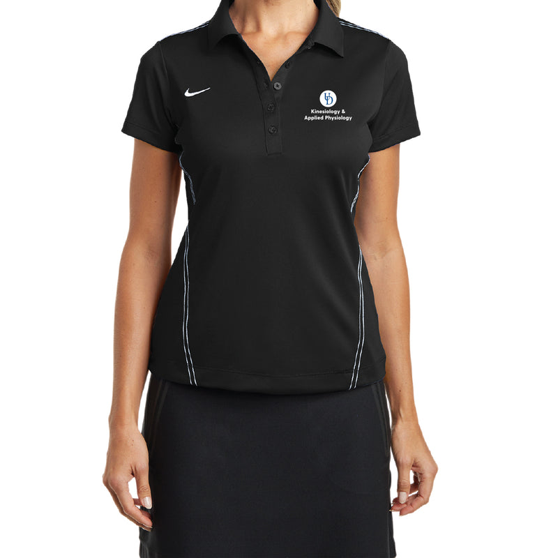 UD KAAP Nike Gold Ladies Dri-FIT Sport Swoosh Pique Polo