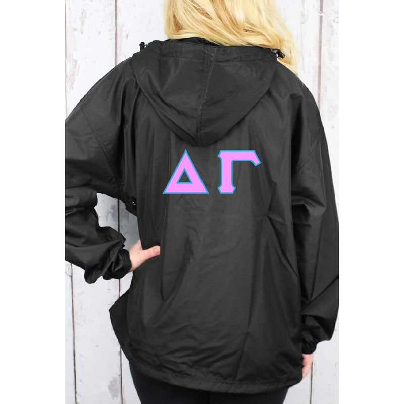 Charles Rivers Custom Sorority Jacket 4 Inch Greek Letters