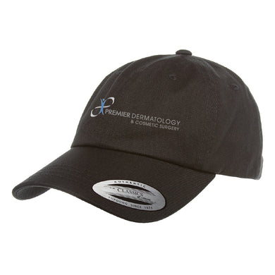 Premier Dermatology Yupoong Adult Low-Profile Cotton Twill Dad Cap