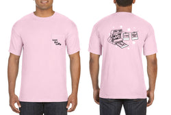 Gamma Phi Beta- Love for Lilly Tee Comfort Color Pocket Tee